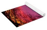 Sunset World Of Trees Yoga Mat