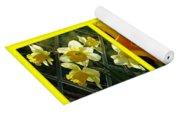 Sunshine Gold Picture Window Yoga Mat