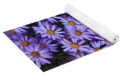 Sweet Dreams Of Purple Daisies Yoga Mat