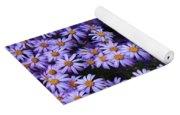 Sweet Dreams Of Purple Daisies Yoga Mat