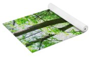 Swirled Forest 1 - Digital Painting Effect Yoga Mat