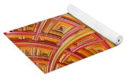 Swirling Rectangles Yoga Mat