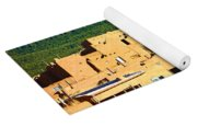 Taos Pueblo South In Autumn Yoga Mat