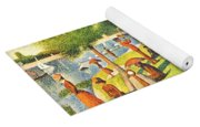 Tardis V Georges Seurat Yoga Mat