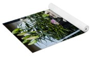 Teapots And Flowers Yoga Mat