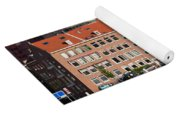 Terraced Houses In Rotterdam City Centre Yoga Mat
