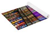 Textile Market Otavalo Ecuador Yoga Mat