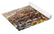 The City Grid Yoga Mat