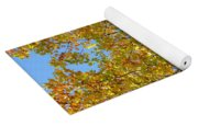 The Colors Of Fall Yoga Mat