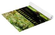 The Coming Of Autumn - Barnes Creek - Lake Crescent - Washington Yoga Mat