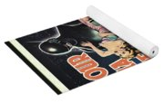 The Day The Earth Stood Still Vintage Poster Yoga Mat