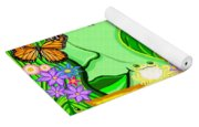 The Eye Of Mother Nature Yoga Mat