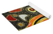 The Fires Of Charged Emotions Yoga Mat