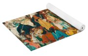 The Flight Out Of Egypt Yoga Mat
