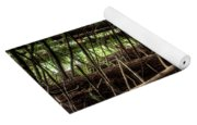The Forest Combed By The Wind In The Lake Yoga Mat