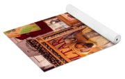 The Fortune Teller And Friend Yoga Mat