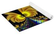 The Jester's Golden Pop-poppies Yoga Mat