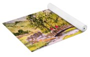 The Lake District - Slater Bridge Yoga Mat