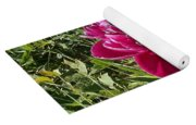 The Lonely Flower Yoga Mat