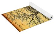 The Lord Jesus Is The Tree Of Life Yoga Mat