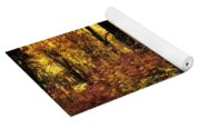 The Magic Of The Forest  Yoga Mat