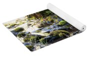 The Moss In The River Stones Yoga Mat