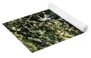 The Pond And The Forest Waterfall Yoga Mat