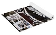 The Royal Connaught Crest Photo Collage Yoga Mat