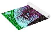The Upside Down Biplane Stamp - 20130119 - V4 Yoga Mat