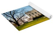 The White House In Washington Dc With Beautiful Blue Sky Yoga Mat