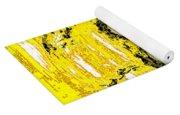 The Yellow Monster Yoga Mat