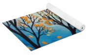 There Is Calmness In The Gentle Breeze Yoga Mat