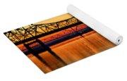 Three Bridge Sunset Yoga Mat