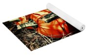 Three Pumpkins Yoga Mat