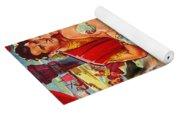 Tibetan Spaniel Art - Salome Movie Poster Yoga Mat