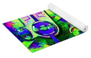 Time In Abstract 20130605m108 Yoga Mat