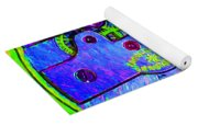 Time In Abstract 20130605m36 Square Yoga Mat