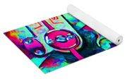 Time In Abstract 20130605m36 Yoga Mat