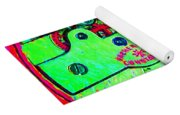 Time In Abstract 20130605m72 Square Yoga Mat