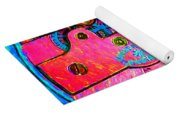 Time In Abstract 20130605p144 Square Yoga Mat