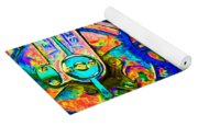 Time In Abstract 20130605p180 Long Yoga Mat