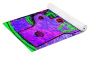 Time In Abstract 20130605p72 Square Yoga Mat