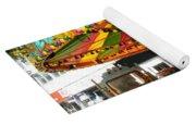 Toy Town Carousel  Yoga Mat