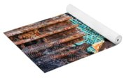 Tracks And Textures Yoga Mat