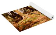 Trail In A Forest, Muskoka, Ontario Yoga Mat