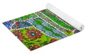 Travel Shopping Colorful Tapestry 8 India Rajasthan Yoga Mat
