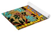 Travel Shopping Colorful Tapestry 9 India Rajasthan Yoga Mat