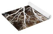 Tree In Abstract Yoga Mat