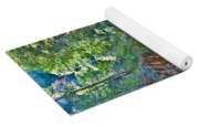 Tree Reflection Yoga Mat