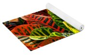 Tropical Croton Yoga Mat